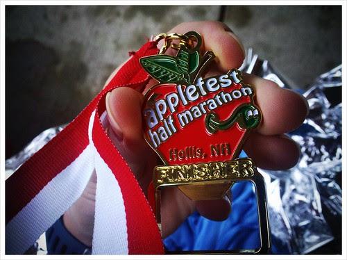 Finishers medal is a bottle opener.