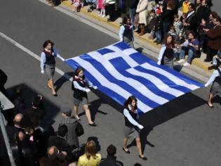 Φωτογραφία για Σημαιοφόροι μόνο Ελληνόπουλα!!!