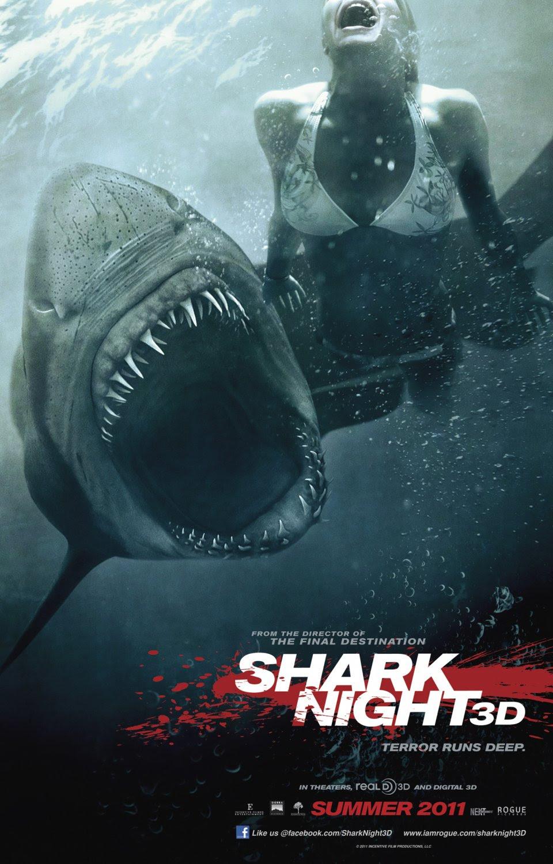 Risultati immagini per shark night poster