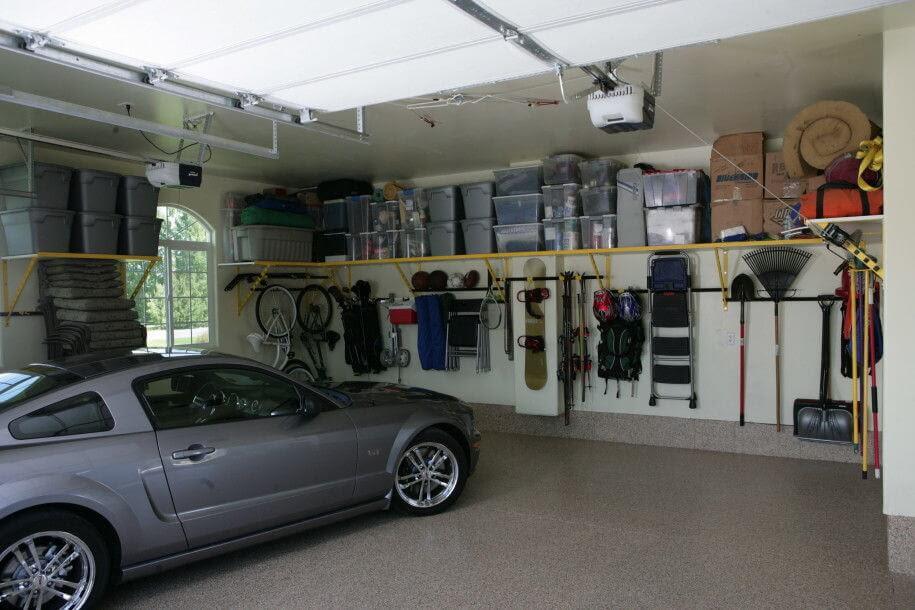 neat and spacious garage mod