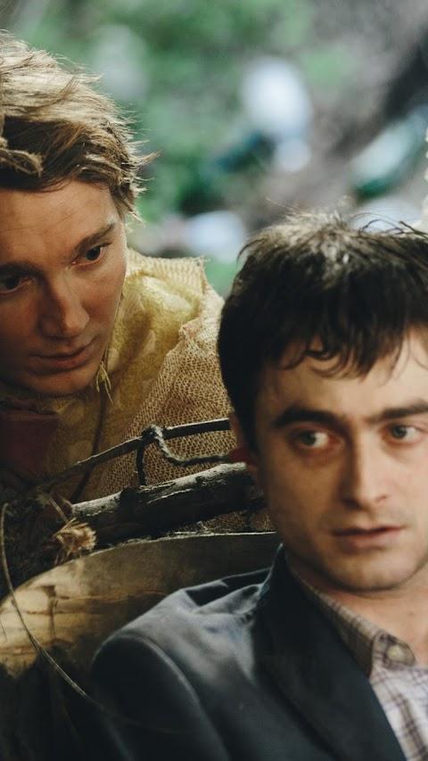 افضل خلفيات افلام خلفية الممثل هاري بوتر مع صديقه بدقة عالية hd