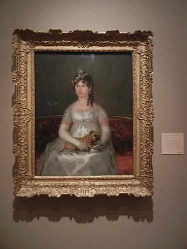 DSCN7620 _ Doria Francisca Vicenta Chollet y Caballero, 1806, Francisco de Goya y Lucientes (1746-1828), Norton Simon Museum, July 2013
