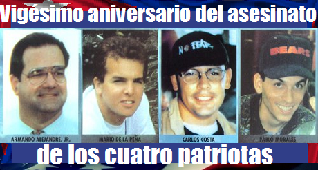20 aniversario del asesinato  4 patriotas