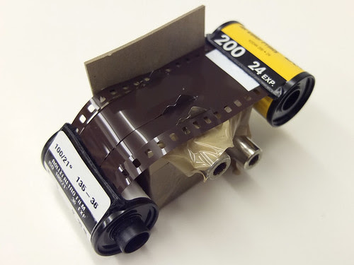 DIY film slitter by pho-Tony