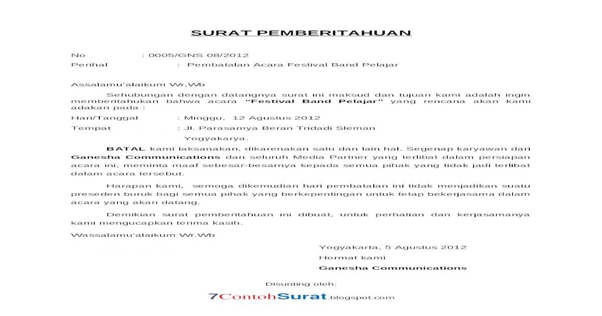 Kumpulan Contoh Surat Edaran Lomba 17 Agustus Hari Kemerdekaan