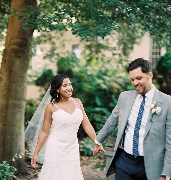 Yorktown Beach Wedding Ceremony: Industrial Romance In Steel Gray And White