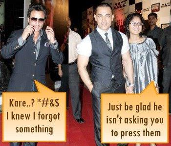 Saif Ali Khan Aamir Race Bollywood