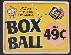 Jack's Box Ball sign