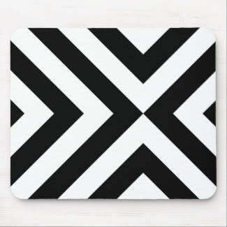 Black and White Chevrons