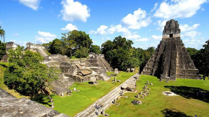Une cité Maya a été découverte au Guatemala dans les forêts près des ruines de l'antique cité Tikal.