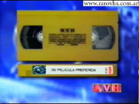 avh videocassette dorado