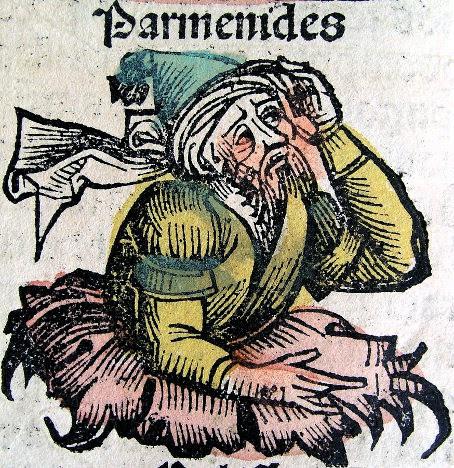 Resultado de imagen de PARMÉNIDES