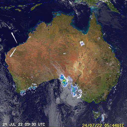 National Radar image
