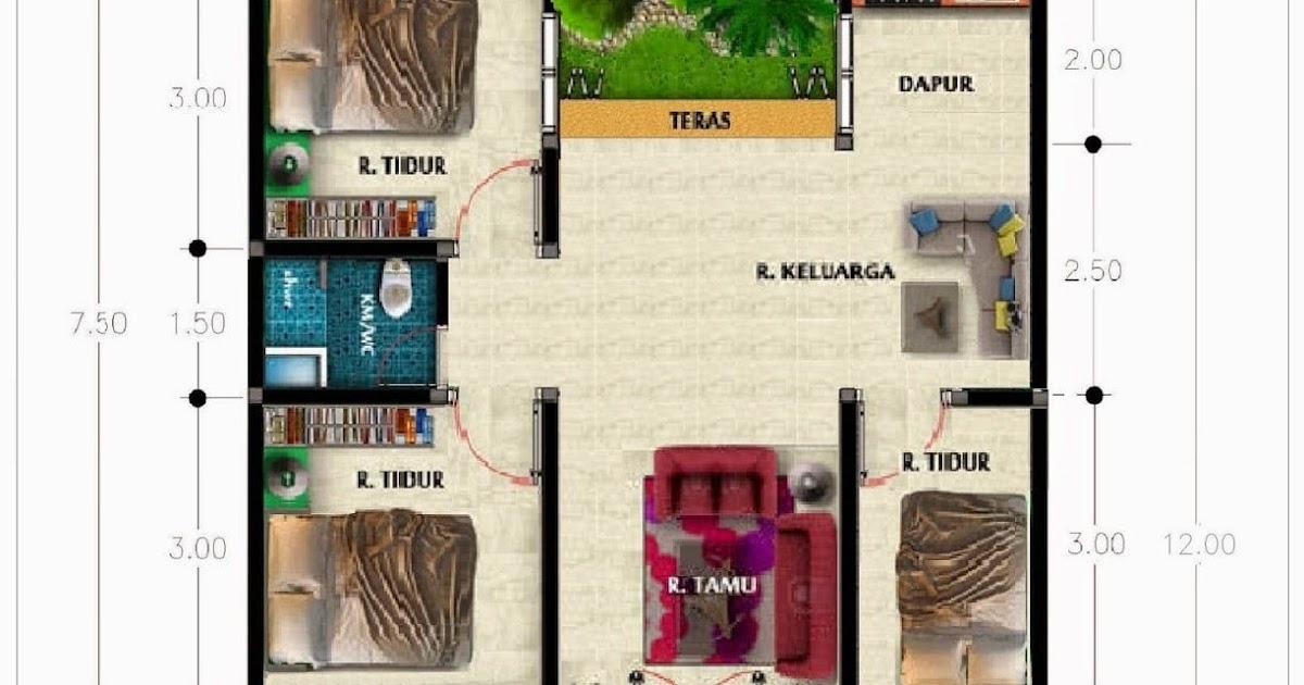Desain Rumah Tanah 50 Meter Desain Rumah Idaman