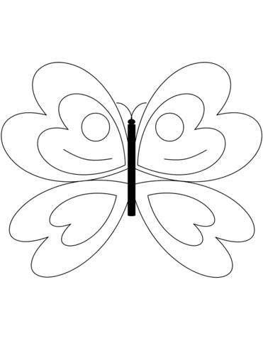 4000 Top Basic Butterfly Coloring Pages Images & Pictures In HD