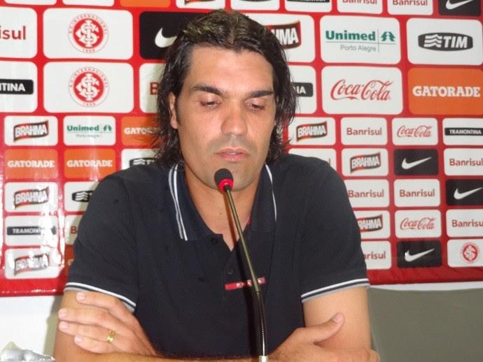Fernandão técnico Inter (Foto: Tomás Hammes / GLOBOESPORTE.COM)