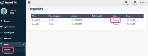 bitcoin payment transaction