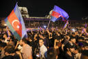 Armenians and Azerbaijanis clash in Moscow