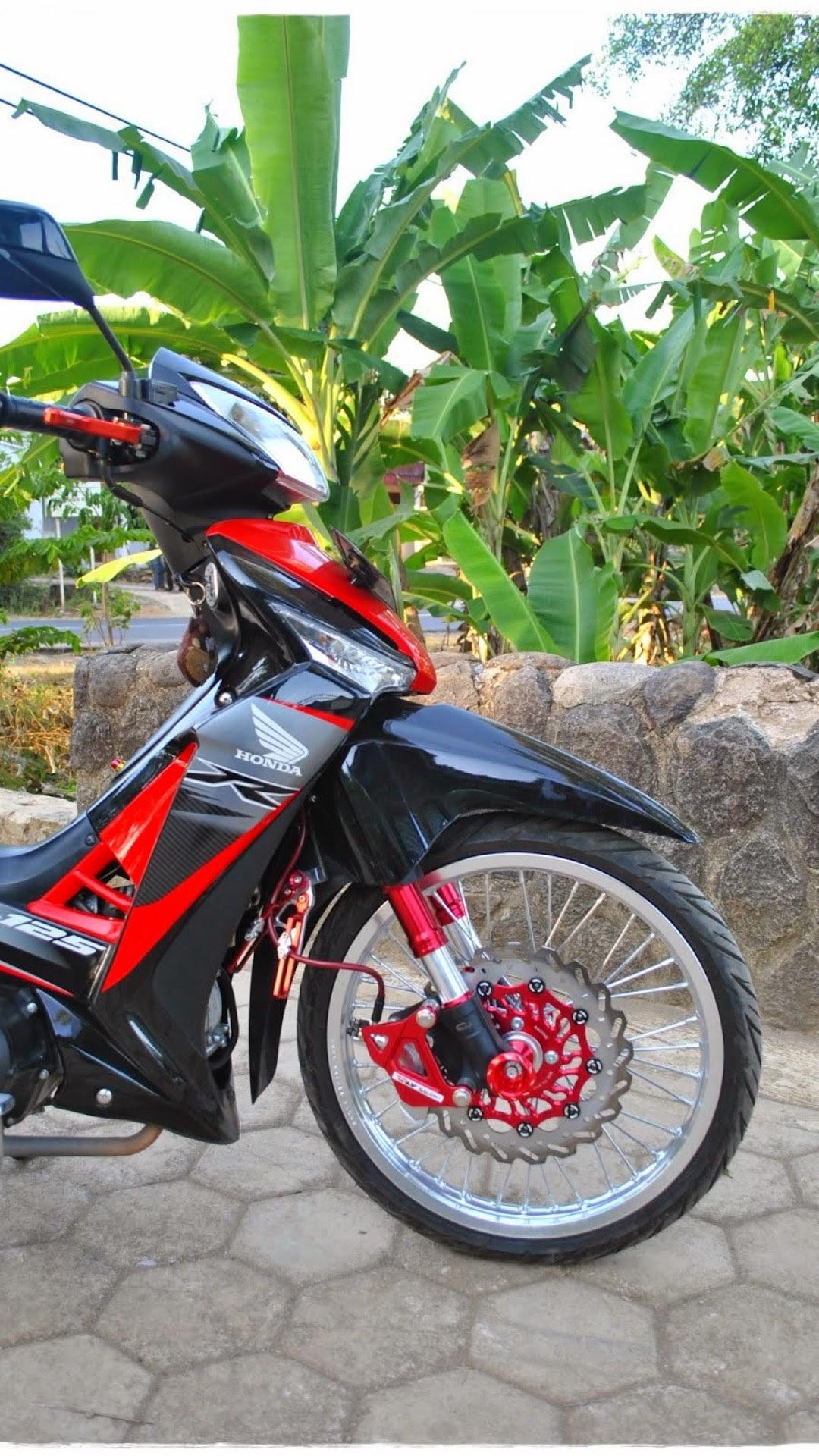 100 Modifikasi Motor Honda Supra X 125 Injeksi Terlengkap Kumbara