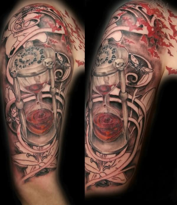 Gallery Studio Star Tattoo Half Sleeve Flower Tattoo