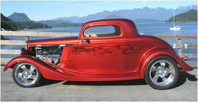 Bear Fiberglass '34 Ford 3 Window Coupe