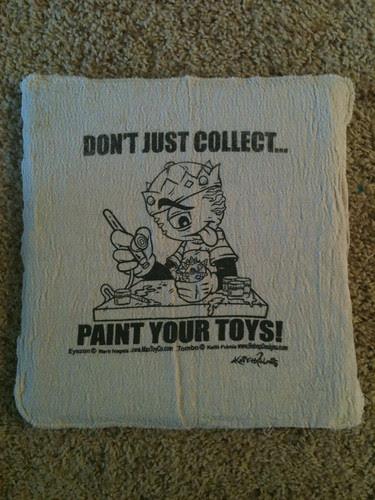 Custom Printed Shop Rags by Bebop'n
