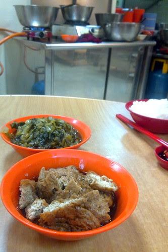 Side dishes of Bak kut teh