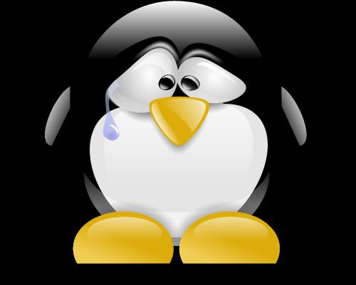 A gente fica tiste né pinguinzinho??? :/