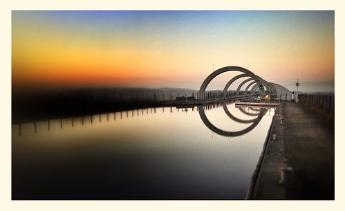 falkirk wheel by E.........'s Diary- thanks for the first 200,000!