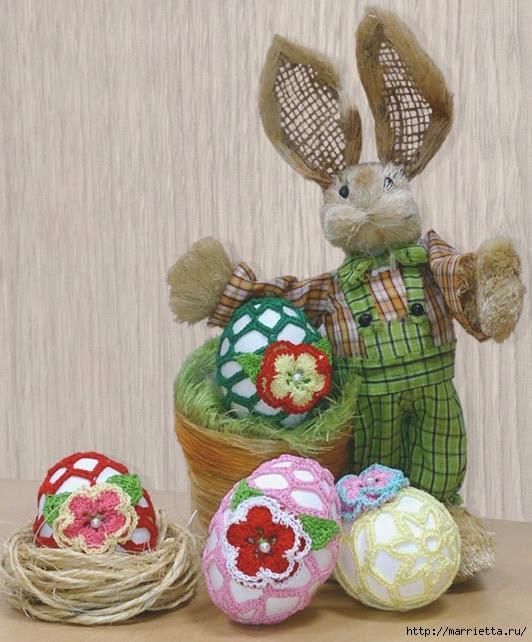 Guida legando le uova di Pasqua uncinetto (1) (532x642, 231KB)
