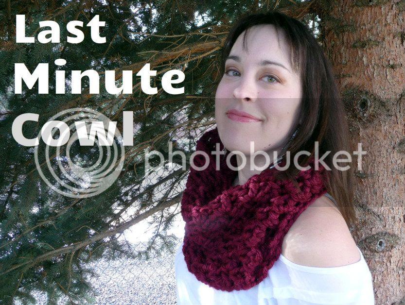 last minute crochet cowl pattern