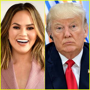 Chrissy Teigen Trolls Donald Trump with New Twitter Bio