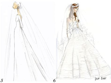 J.Crew and Lela Rose sketch Kate Middleton's royal wedding