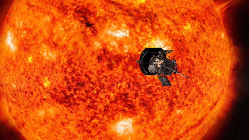 Image result for We Have Lift Off: Parker Solar Probe Starts Historic Journey to Touch the Sun