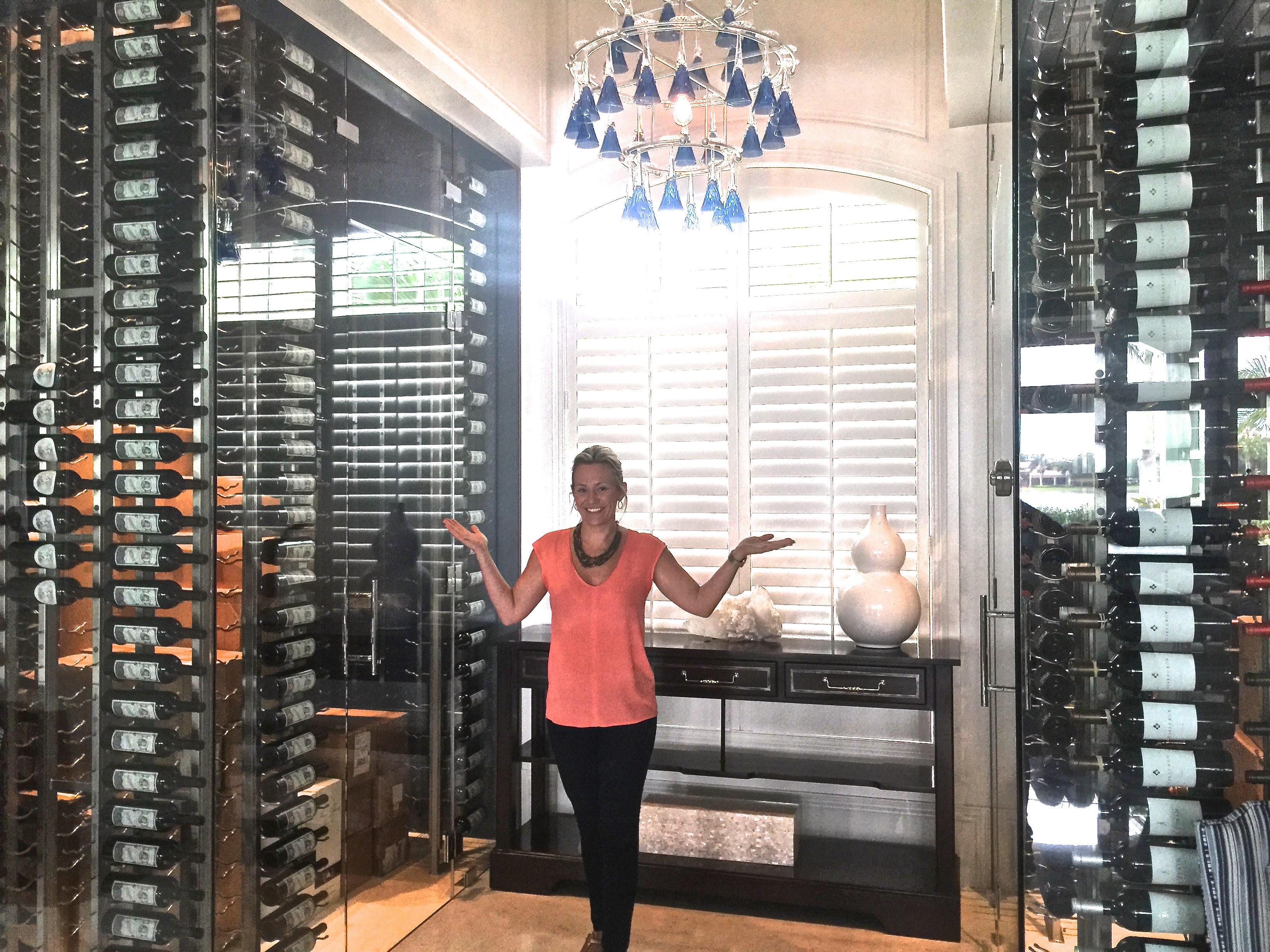 Wine Cellar Gl Door Design Home