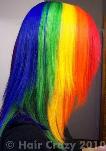 Μαλλιά ουράνιο τόξο (7)