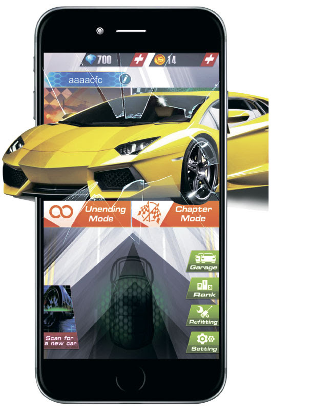 AR Racer Speed Augmented Reality Mobile Game | DudeIWantThat.com