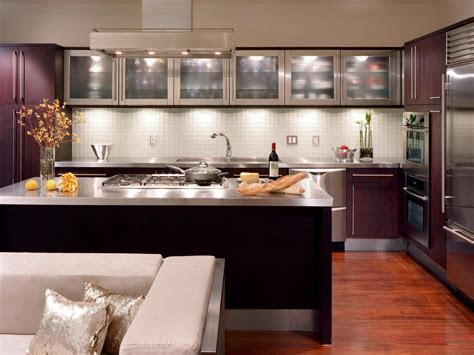 cabinet kitchen lighting pictures ideas  hgtv