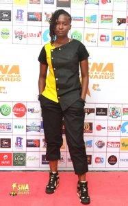 [PHOTOS] Rising Star, Unique Bags Next Rated at Stars of Naija Awards.