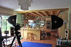 Tailgating video shoot