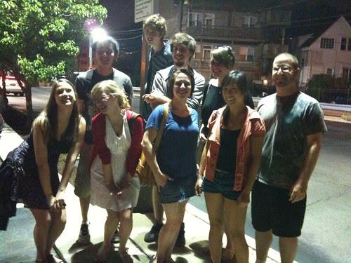 My senior fiction students, soon to graduate!