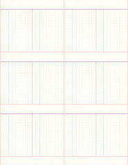 8a LIGHT antique ledger paper LARGE SCALE - standard or letter size 350dpi