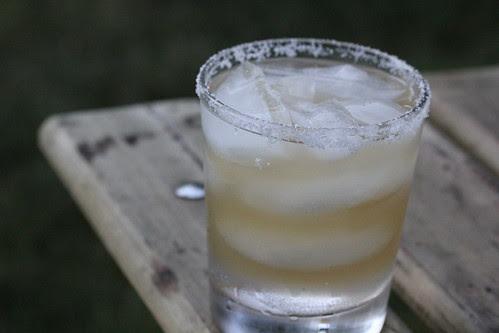 Fiery hot tequila margarita
