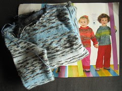 Phildar Pitchoun Sweater WIP