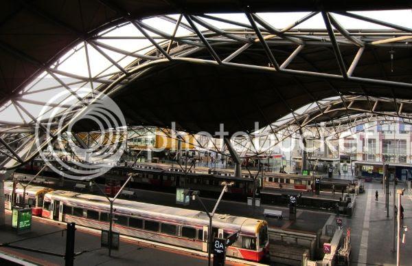 melbourne central station architecture