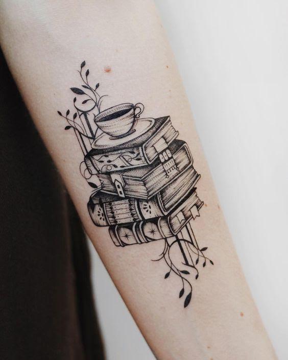 29 Mejores Tatuajes De Libros Para Adictos A La Lecturatop 2018