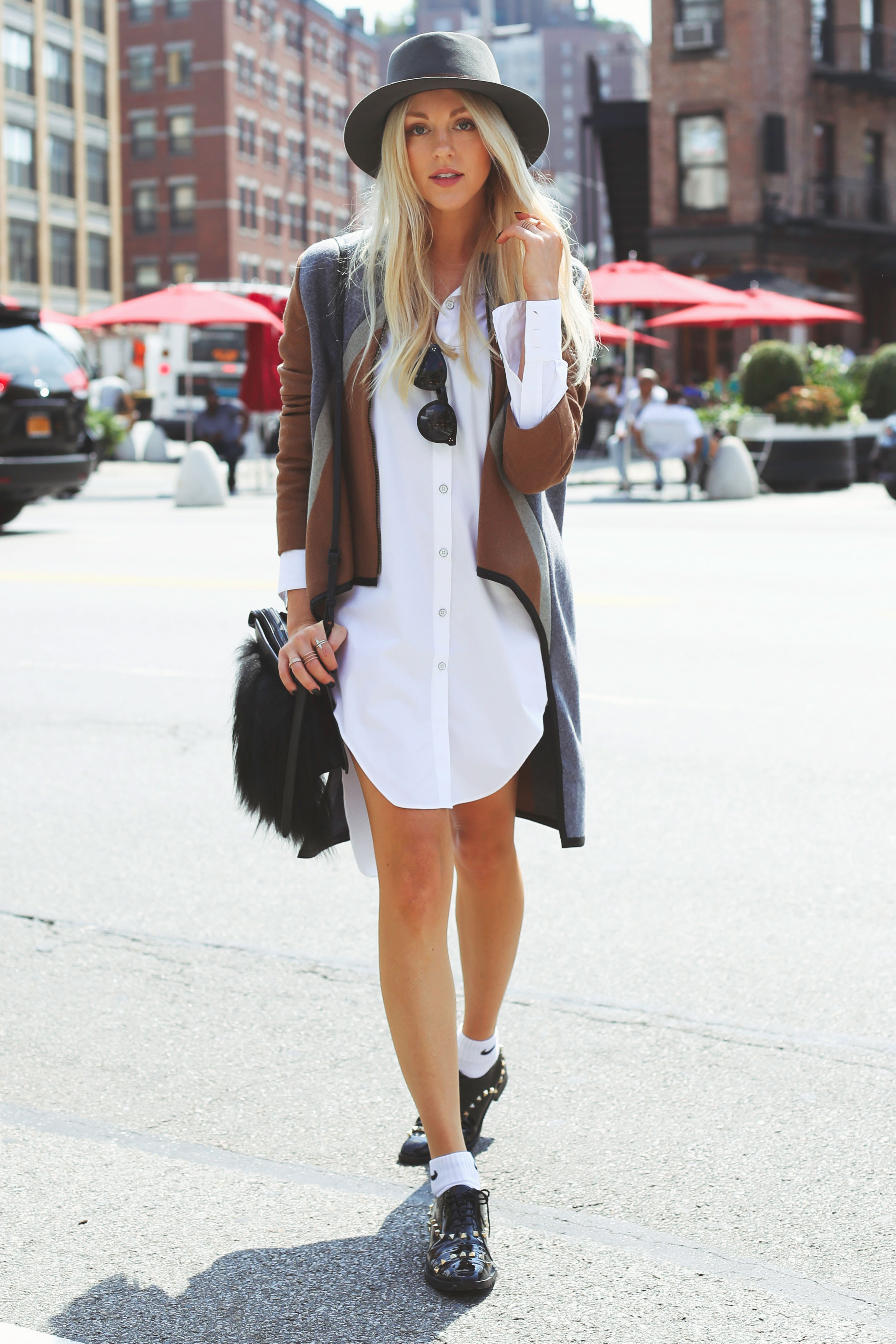 25 simple ways to wear a shirt dress  outfits  ideas