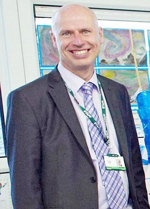 World Cup dream: Headteacher Mark Williams has resigned his job at a Bolton school and has gone to Brazil