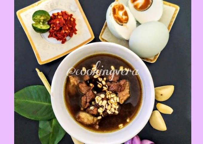Resep Praktis Rawon Daging Sapi khas Jawa Timur Gampang Banget