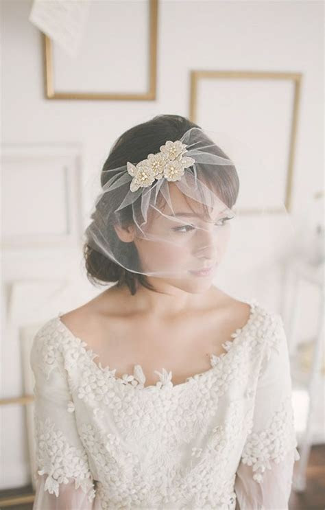9 best VEILS images on Pinterest   Brides, Headpieces and